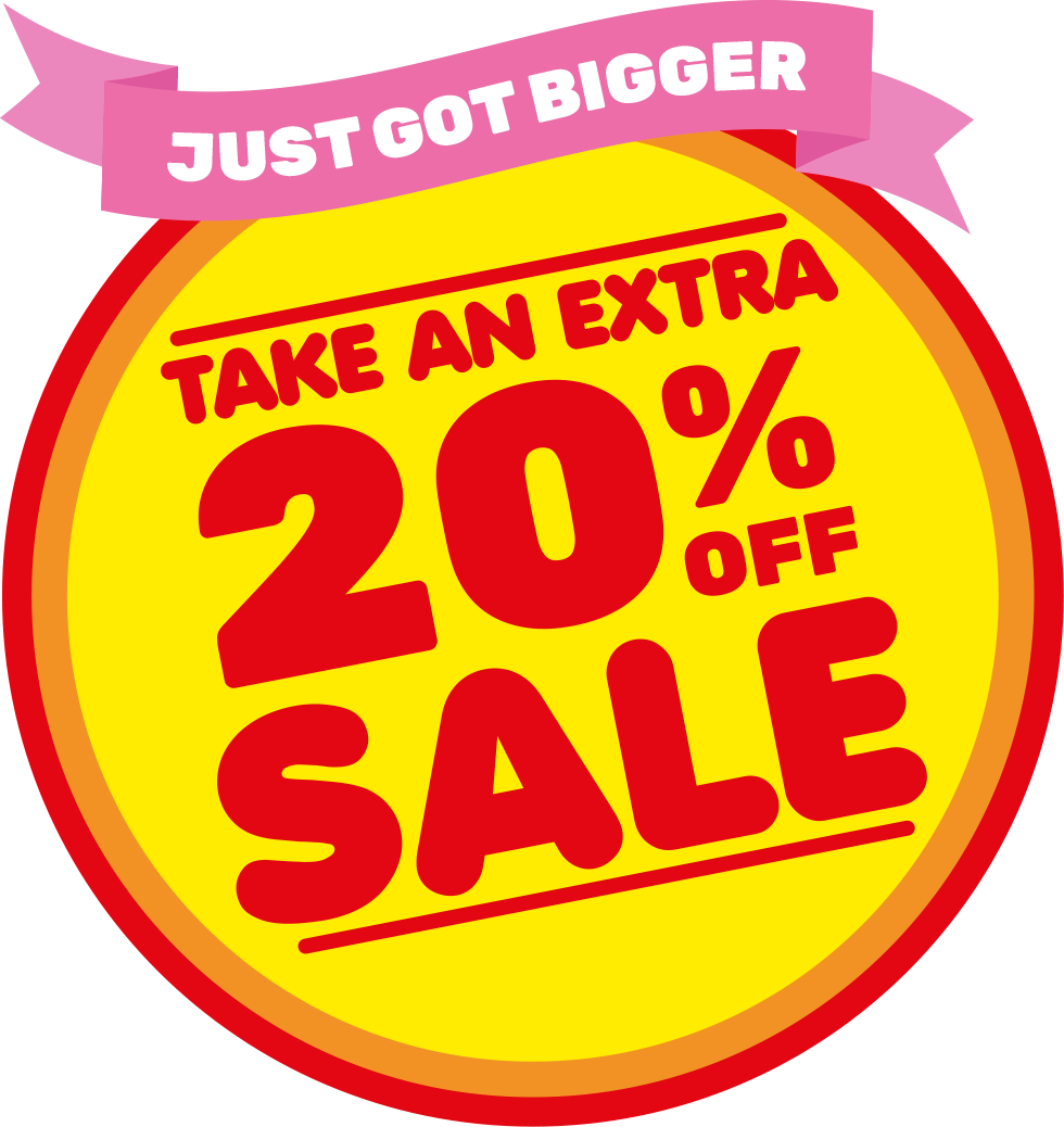 SALE - Take an extra 20% off