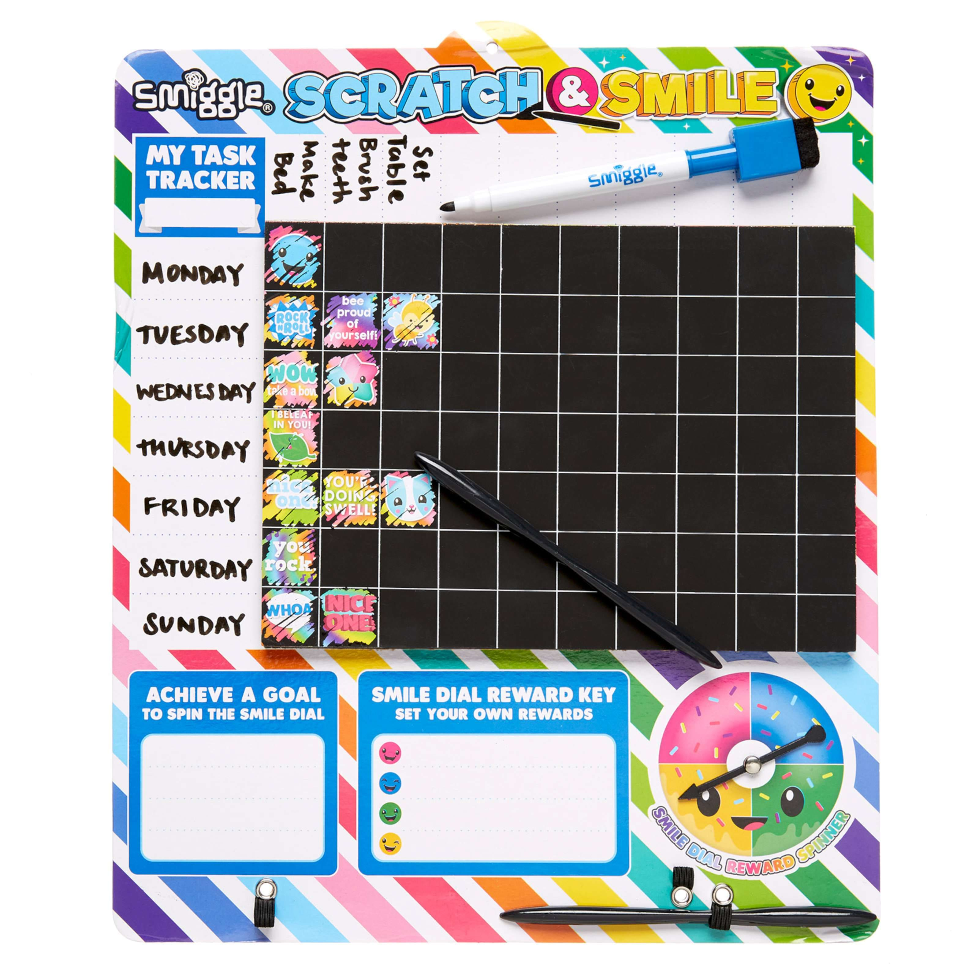 image for scratch reward chart from smiggle