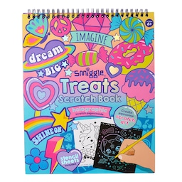 Treats Holographic Scratch Book