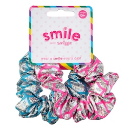 Smile Mermaid Scrunchie Pack X2