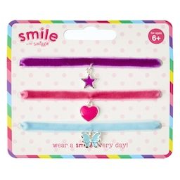 Smile Hippy Choker Pack X 3