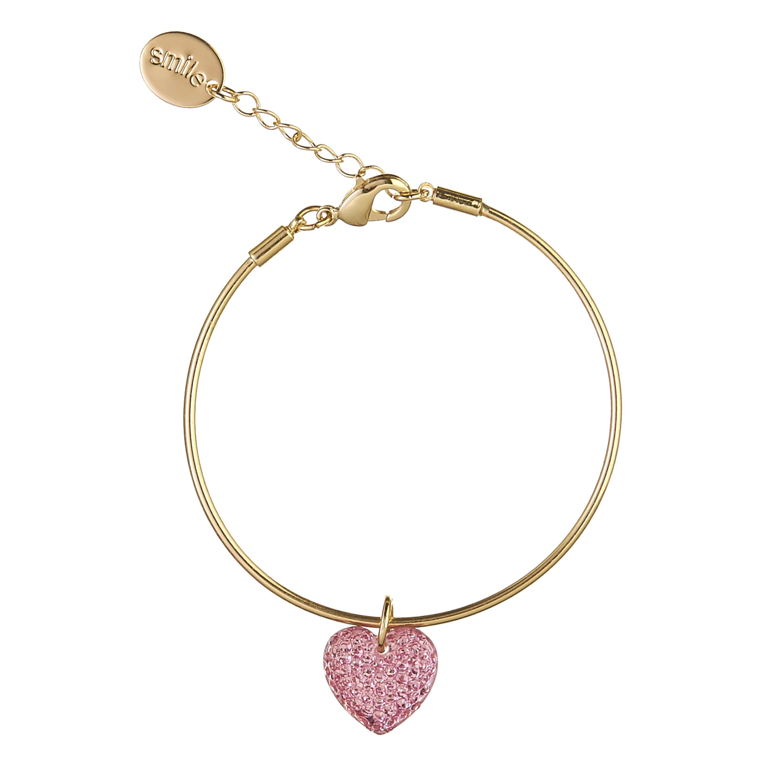 ... Image for Smile Heart Bangle Bracelet from Smiggle ff72ba674