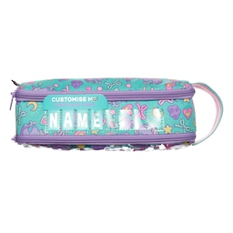 Wander Id Dual Zip Pencil Case