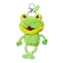 Buzz Fluffy Keyring