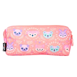 Cheer Twin Zip See-Through Pencil Case