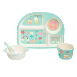 Big Adventures Teeny Tiny 4 Piece Tableware Set