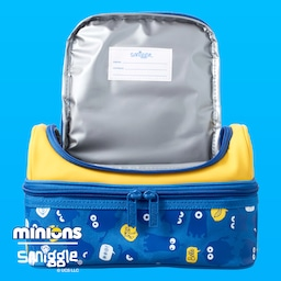 Minions Double Decker Lunchbox