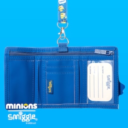 Minions Junior Character Wallet With Lanyard
