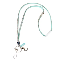 Pastel Gem Beaded Lanyard