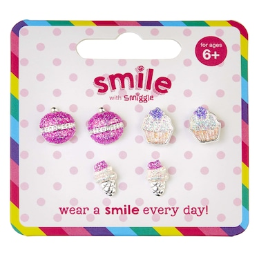 Smile Sweets Earrings Pack X 3