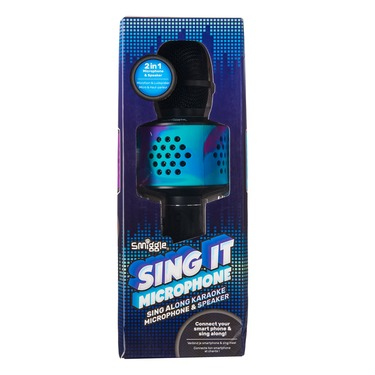 Sing It Karaoke Microphone And Speaker