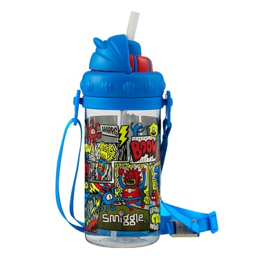 Take Off Drink Bottle With Strap