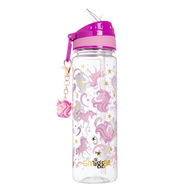 Gold Drink Bottle With Charm