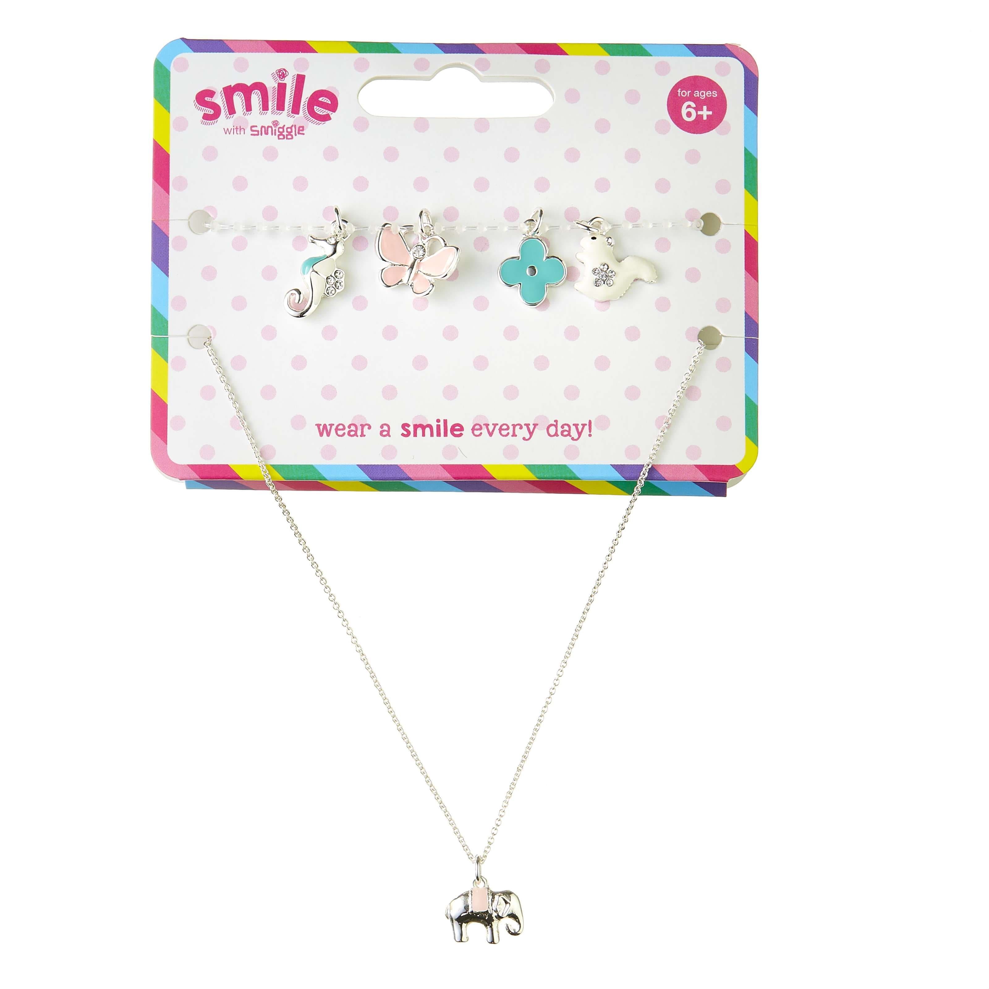 Smile Journey Charm Necklace